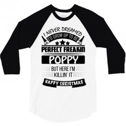 I never dreamed Poppy 3/4 Sleeve Shirt | Artistshot