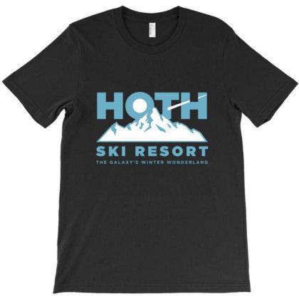 Hoth Ski Resort T-shirt Designed By Mijil