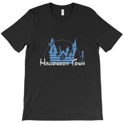 Horor Castle Ghost T-shirt Designed By Mijil