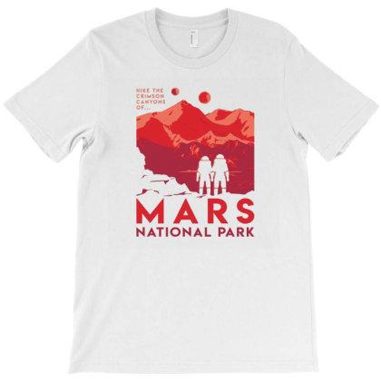 Mars National Park T-shirt Designed By Mijil