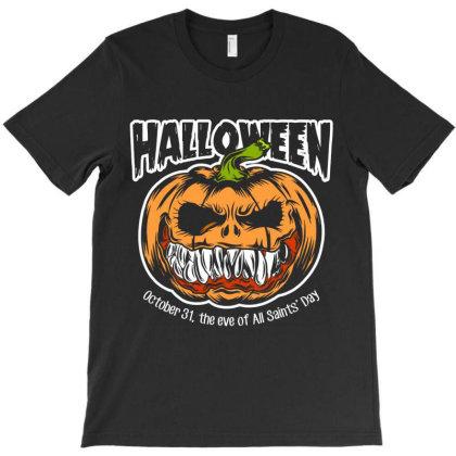 Halloween T-shirt Designed By Designisfun
