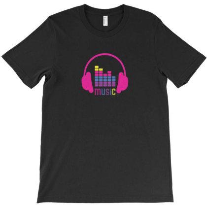 Love Da Music T-shirt Designed By Macapat