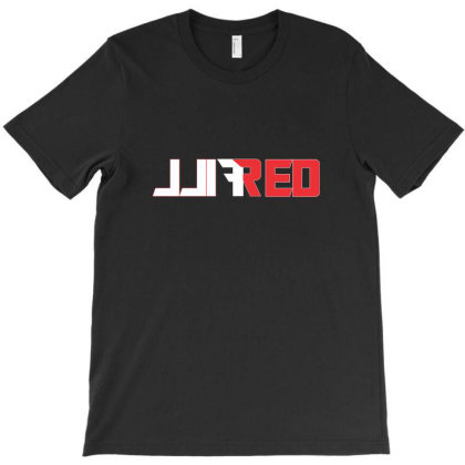Fill Red T-shirt Designed By Pujangga45