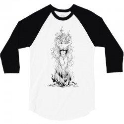 poison ivy 3/4 Sleeve Shirt   Artistshot