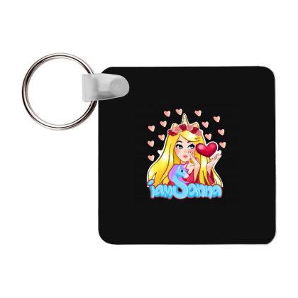 Iamsanna Sanna Frp Square Keychain Designed By Kessok