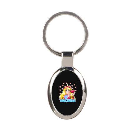 Iamsanna Sanna Oval Keychain Designed By Kessok