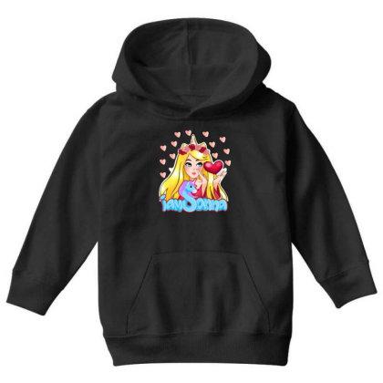Iamsanna Sanna Youth Hoodie Designed By Kessok