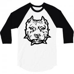 pitbull 3/4 Sleeve Shirt | Artistshot