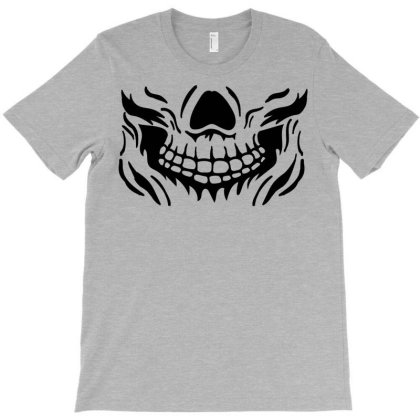 Halloween Face T-shirt Designed By Chiks