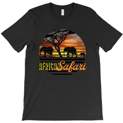 African Safari - We Are Family T-shirt Designed By Kessok