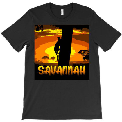Arise Oh Savannah Abstract T-shirt Designed By Kessok