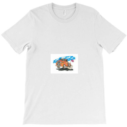 Truckin On T-shirt Designed By Old Mill Studio