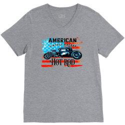 AMERICAN CAR  HOT ROD V-Neck Tee | Artistshot