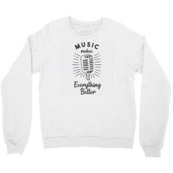 hand drawn microphone Crewneck Sweatshirt | Artistshot