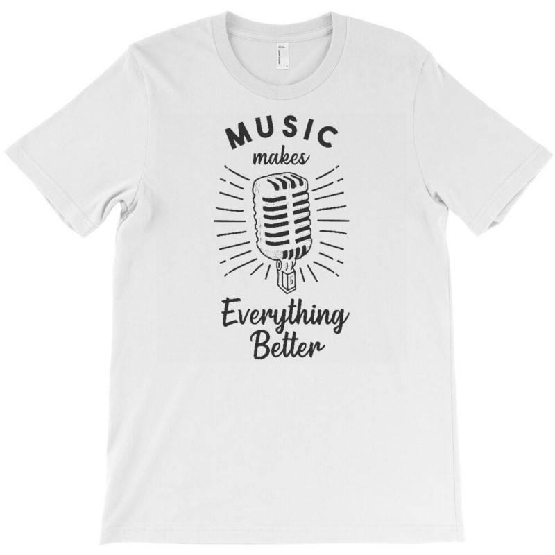 Hand Drawn Microphone T-shirt | Artistshot