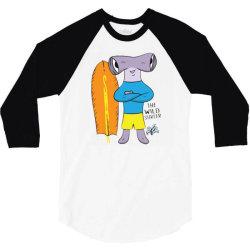 hammer shark 3/4 Sleeve Shirt | Artistshot