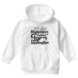 happiness is a journey not a destination Youth Hoodie | Artistshot