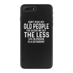 dont piss off old people iPhone 7 Plus Case | Artistshot