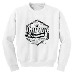 GARAGE CAR Youth Sweatshirt | Artistshot