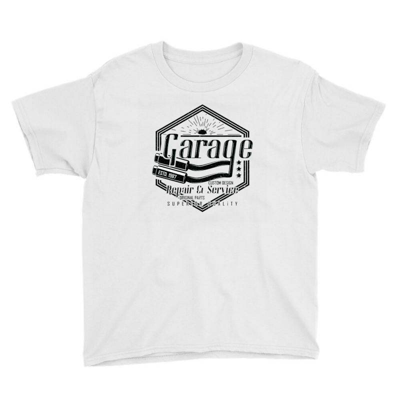 Garage Car Youth Tee | Artistshot