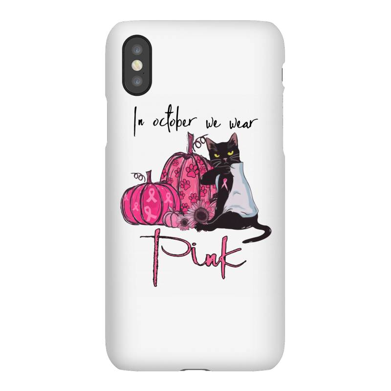 Breast Cancer  In October We Wear Pink Iphonex Case   Artistshot