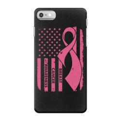 breast cancer awareness flag iPhone 7 Case | Artistshot