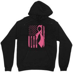 breast cancer awareness flag Unisex Hoodie | Artistshot