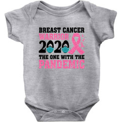 breast cancer blink breast cancer warrior 2020 the one with the pandem Baby Bodysuit | Artistshot