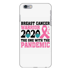 breast cancer blink breast cancer warrior 2020 the one with the pandem iPhone 6 Plus/6s Plus Case | Artistshot