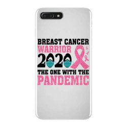 breast cancer blink breast cancer warrior 2020 the one with the pandem iPhone 7 Plus Case | Artistshot