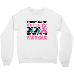 breast cancer blink breast cancer warrior 2020 the one with the pandem Crewneck Sweatshirt | Artistshot