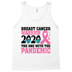 breast cancer blink breast cancer warrior 2020 the one with the pandem Tank Top | Artistshot