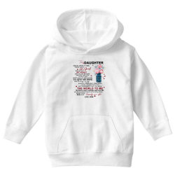to my daughter once upon a time there was a little girl Youth Hoodie | Artistshot
