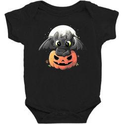 baby dragon pumpkin Baby Bodysuit | Artistshot