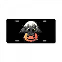 baby dragon pumpkin License Plate | Artistshot