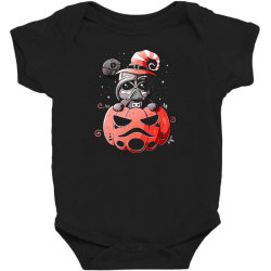 baby darth vader pumpkin Baby Bodysuit | Artistshot