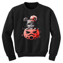 baby darth vader pumpkin Youth Sweatshirt | Artistshot