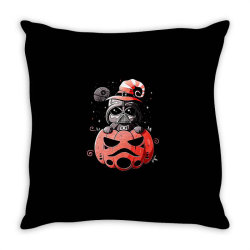 baby darth vader pumpkin Throw Pillow | Artistshot