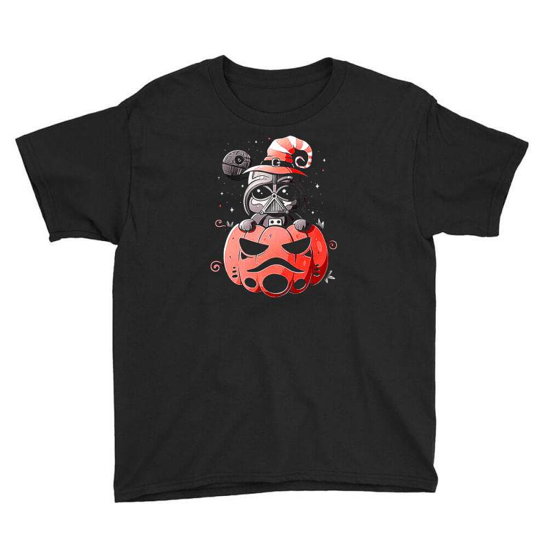 Baby Darth Vader Pumpkin Youth Tee | Artistshot