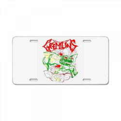 gremlins License Plate | Artistshot
