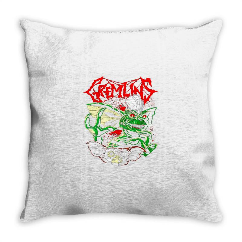 Gremlins Throw Pillow | Artistshot