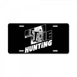 the hunting mandalorian License Plate | Artistshot