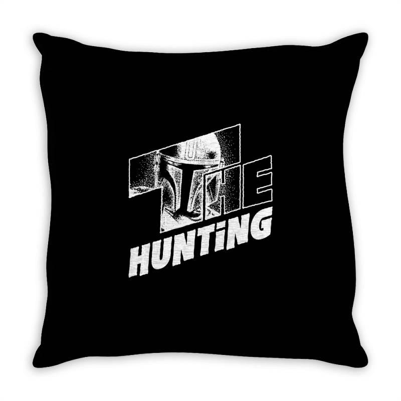 The Hunting Mandalorian Throw Pillow | Artistshot