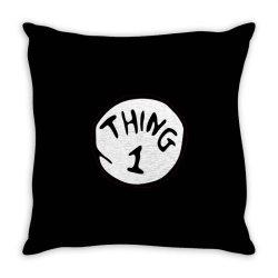 thing 1 Throw Pillow | Artistshot