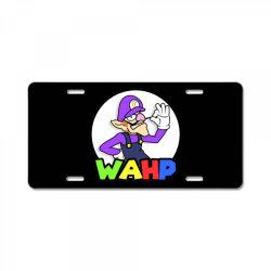 wahp License Plate | Artistshot