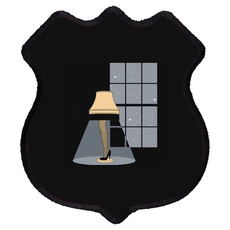Leg Lamp Shield Patch   Artistshot