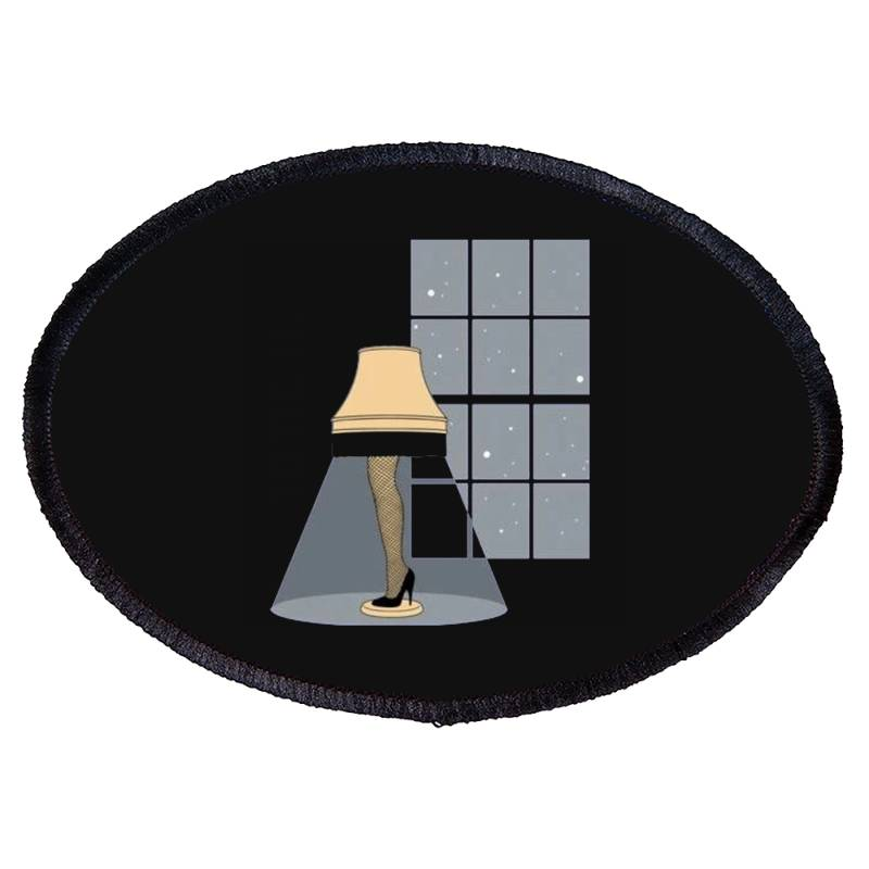 Leg Lamp Oval Patch | Artistshot