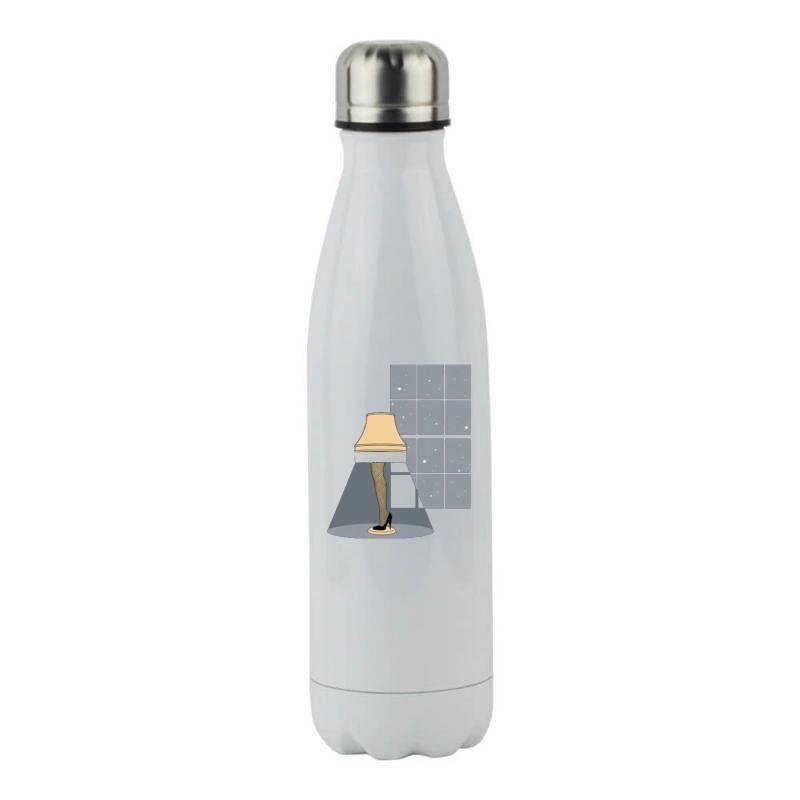 Leg Lamp Stainless Steel Water Bottle | Artistshot
