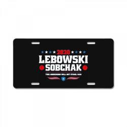 lebowski sobchak 2020 License Plate | Artistshot