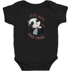 less hate Baby Bodysuit   Artistshot